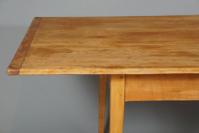 Large Shaker-Style Farm Table For Sale 1