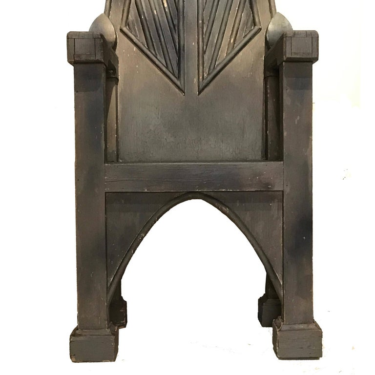 American Primitive Throne Chair 3