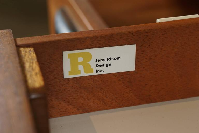 Rosewood Console by Jens Risom 2
