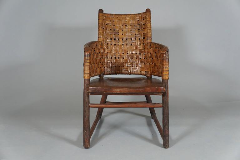 """Old Hickory Fruniture Co."" Armchair 3"