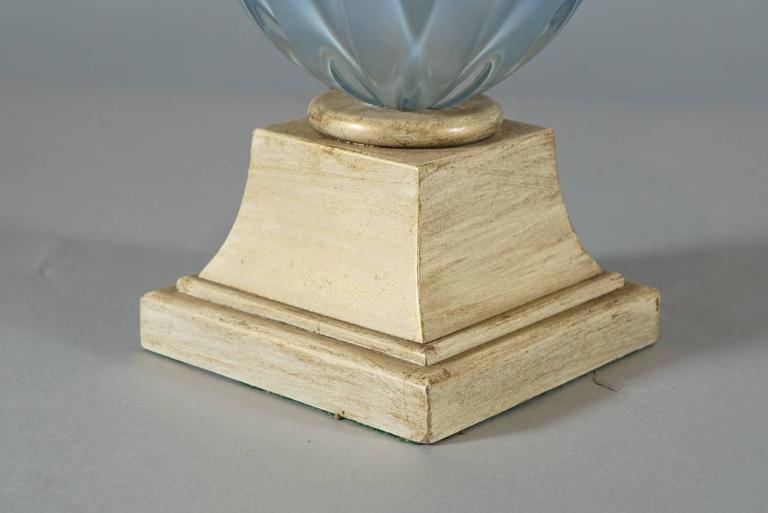 Pair of Murano Glass Pineapple Lamps 8