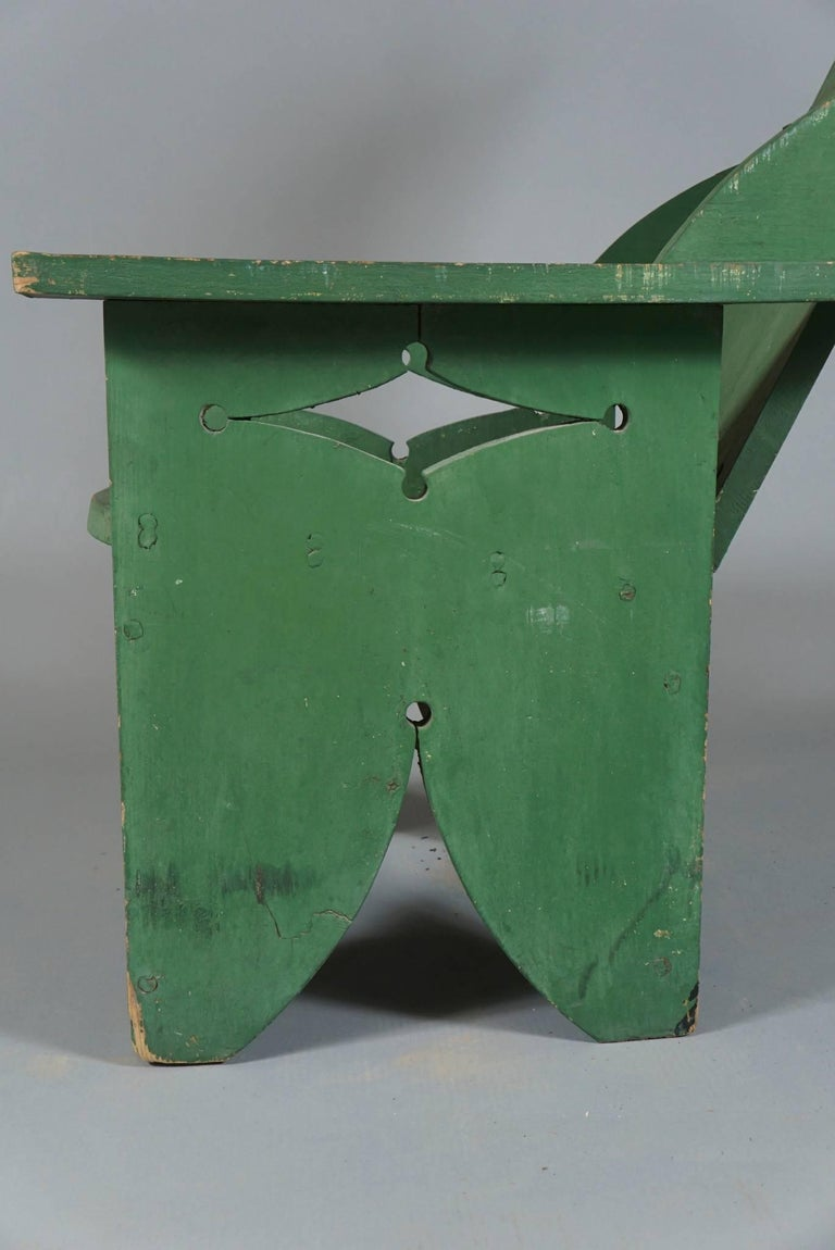 Adjustable Adirondack Chair in Green 2