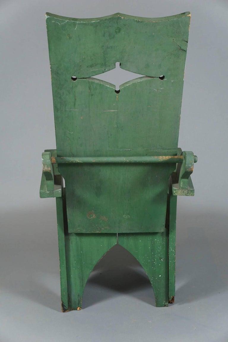 Adjustable Adirondack Chair in Green 5