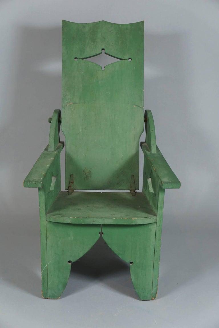 Adjustable Adirondack Chair in Green 6