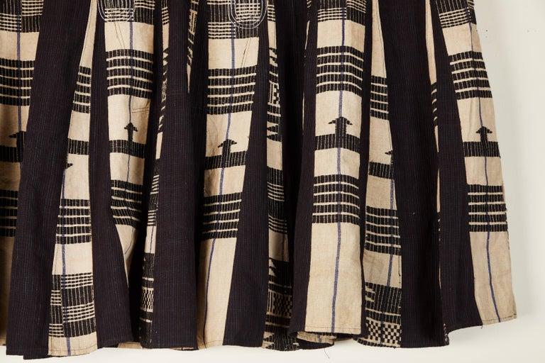 Hand-Woven African Aso Oke Men's Tunic, Nigeria For Sale