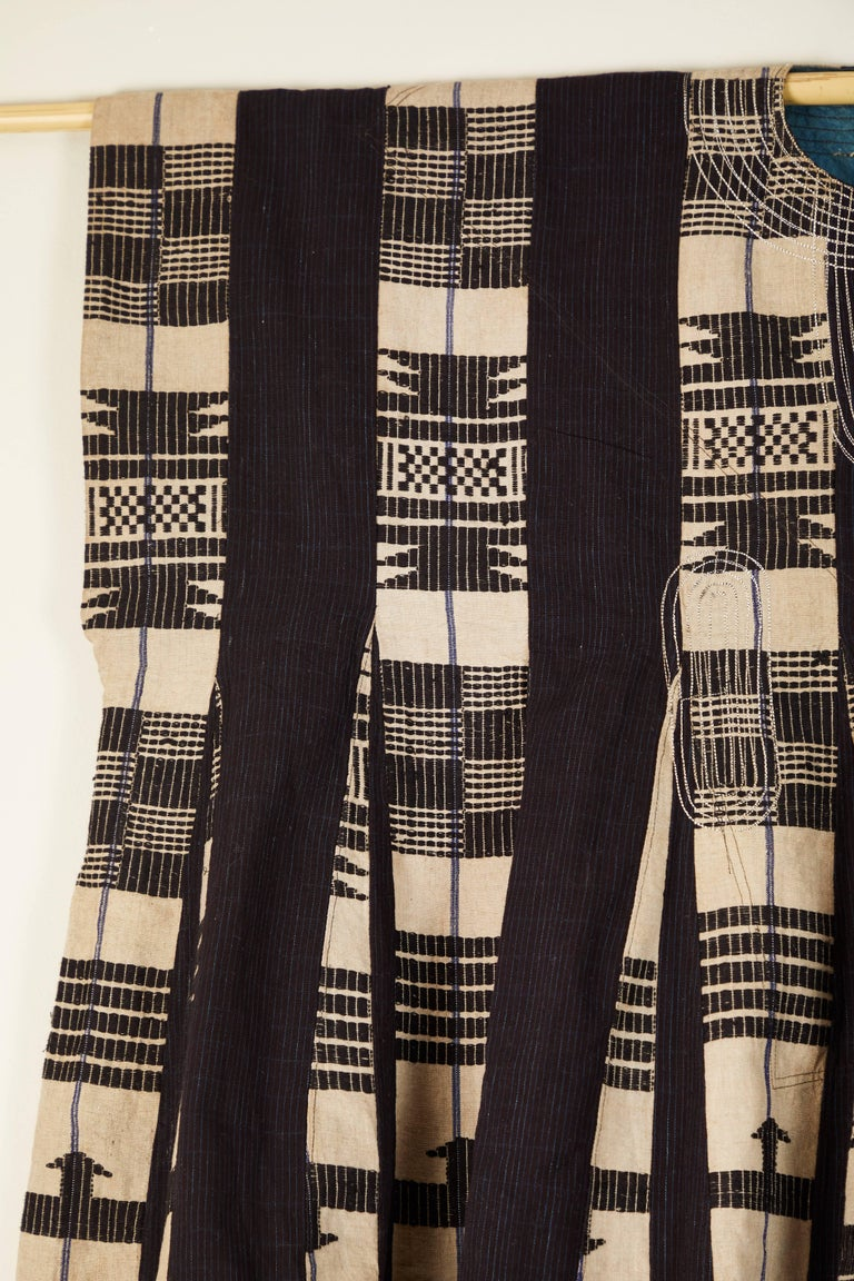 20th Century African Aso Oke Men's Tunic, Nigeria For Sale