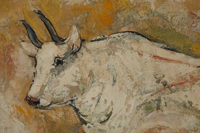 Japanese Masao Saitoh Painting For Sale