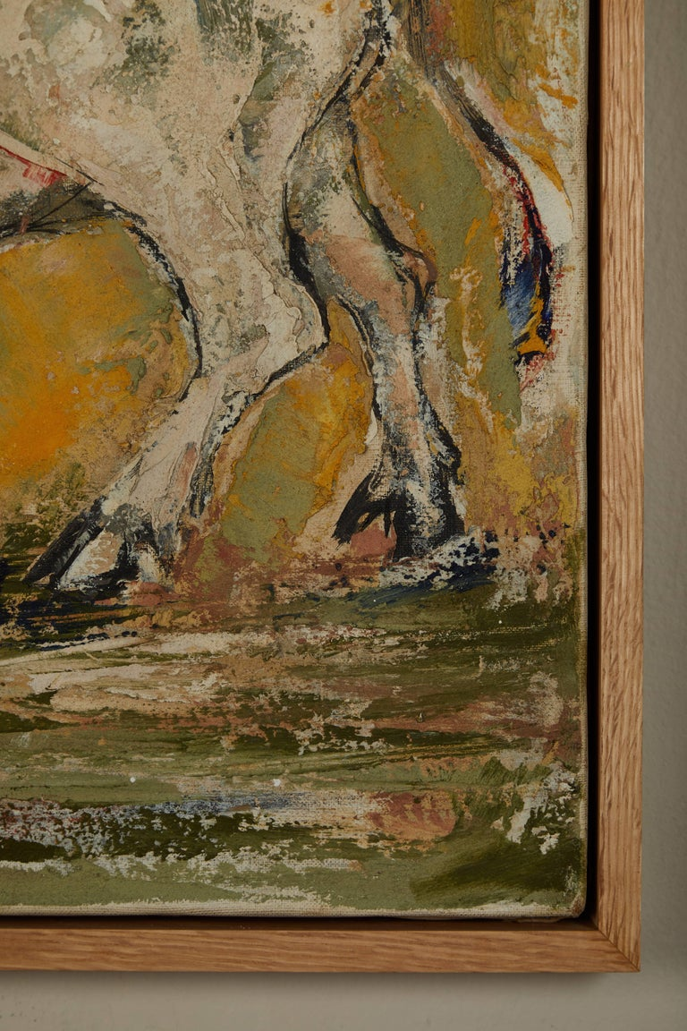 Masao Saitoh Painting In Good Condition For Sale In Los Angeles, CA