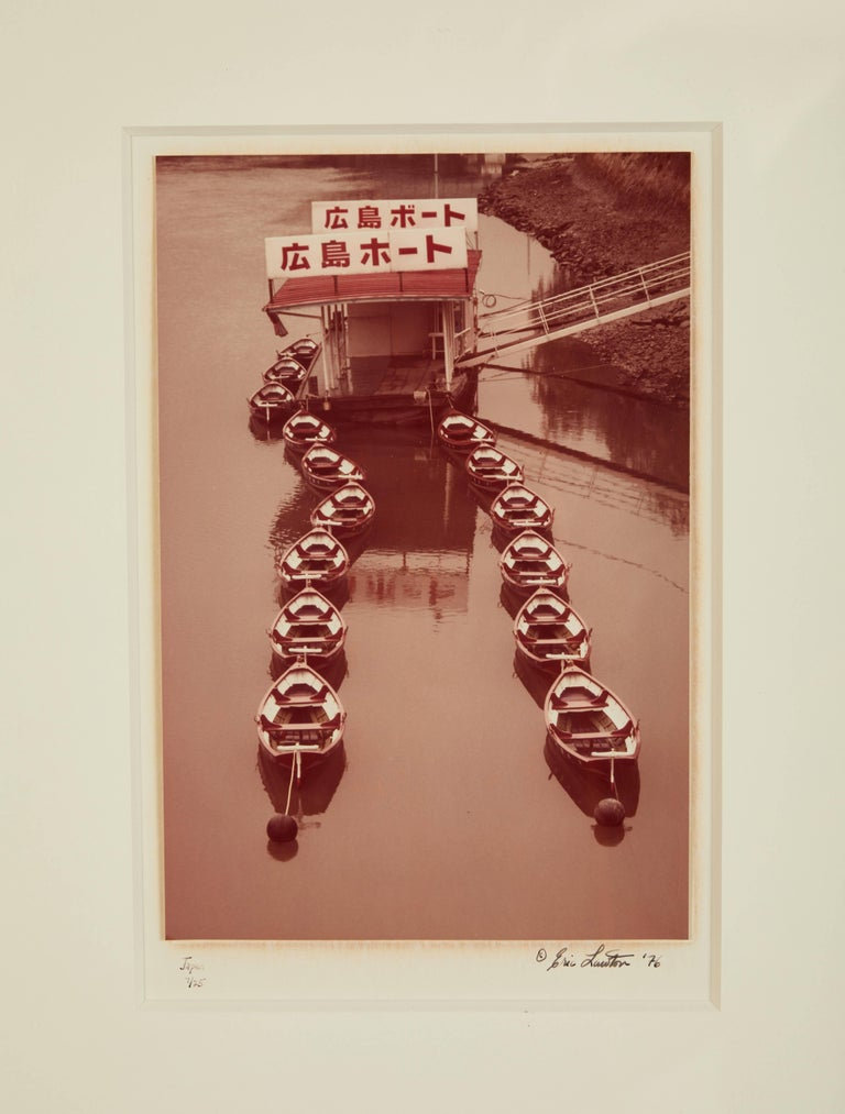 Eric Lawton 1976 Photograph of Japanese Boats For Sale 2