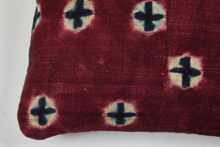 Tibetan Antique Tibetian Yak Wool Pillow For Sale