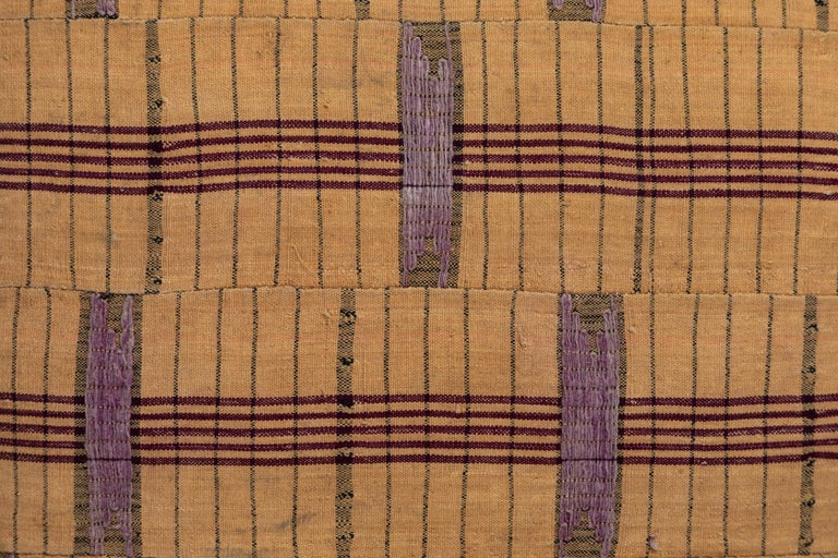 Hand-Woven African Asoke Pillow For Sale