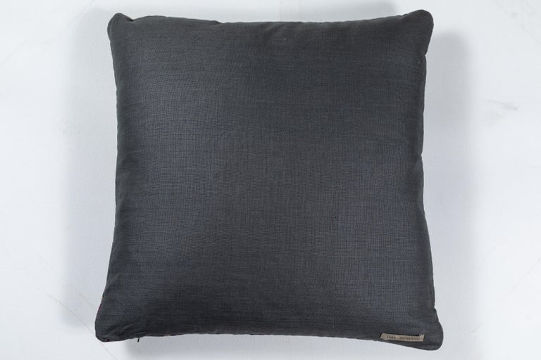 Vietnamese Hill Tribe Brocade Pillow In Good Condition For Sale In Los Angeles, CA