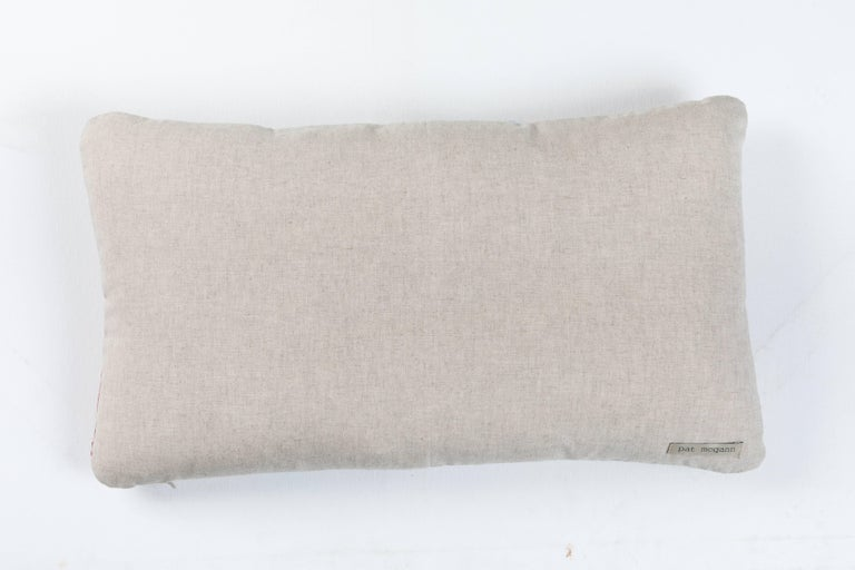 Antique French Linen Pillow  4