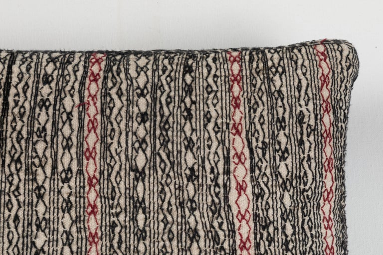 Hand-Woven Afghani Nuristan Pillow For Sale