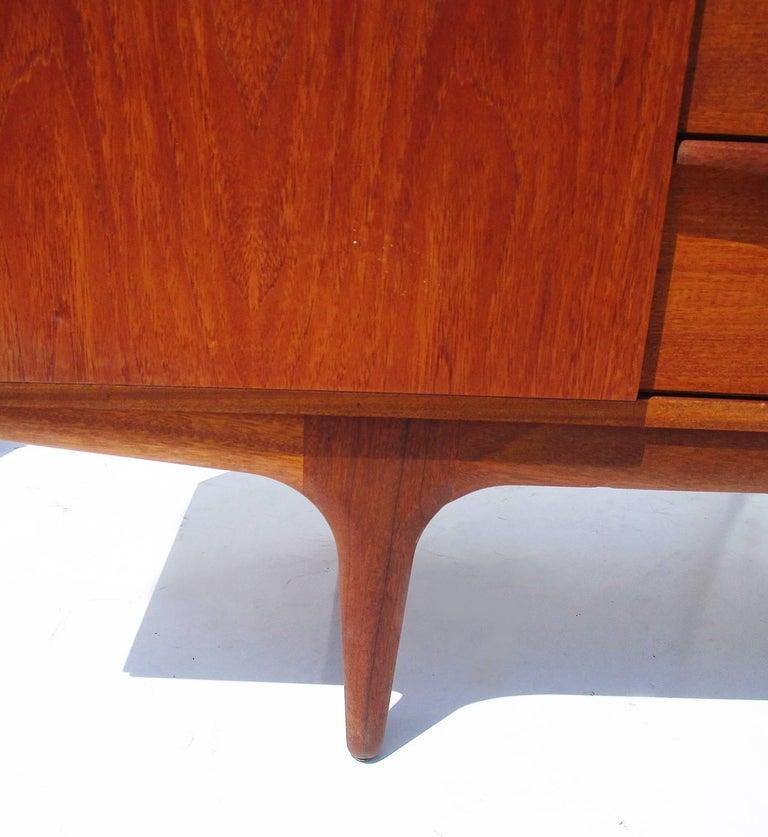 Mid-Century Modern Midcentury Danish Modern Teak Sideboard For Sale