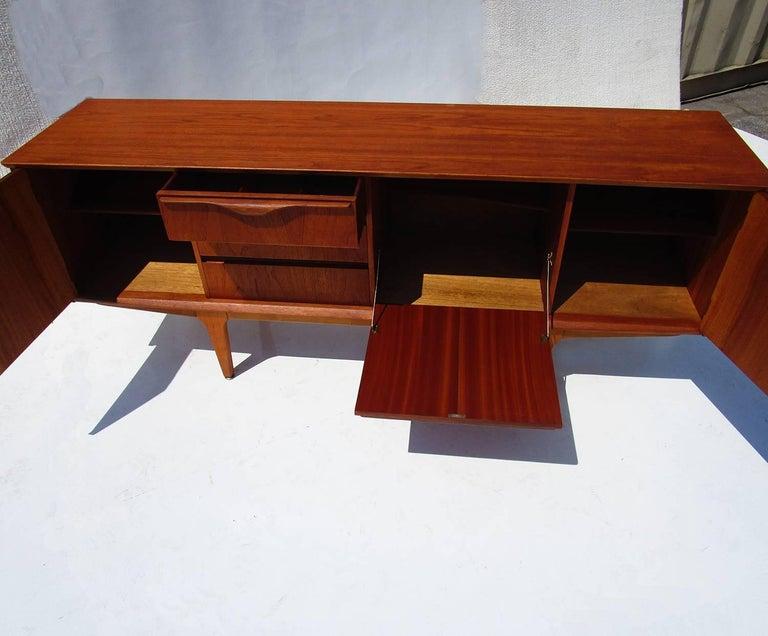 Danish Mid-Century Modern Teak Sideboard 3