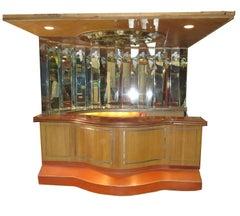 Paul Williams Custom Built Bar from Bel Air California Residence