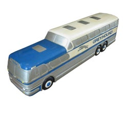 Greyhound Scenicruiser Bus Display Model, Raymond Loewy Design