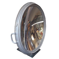 Large Table Mounted Parabolic Mirror by G.E.