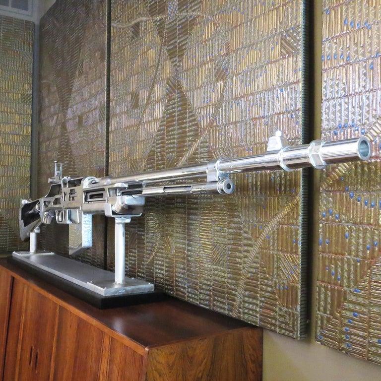 Aluminum Bar Rifle Oversized Training Display Model For Sale