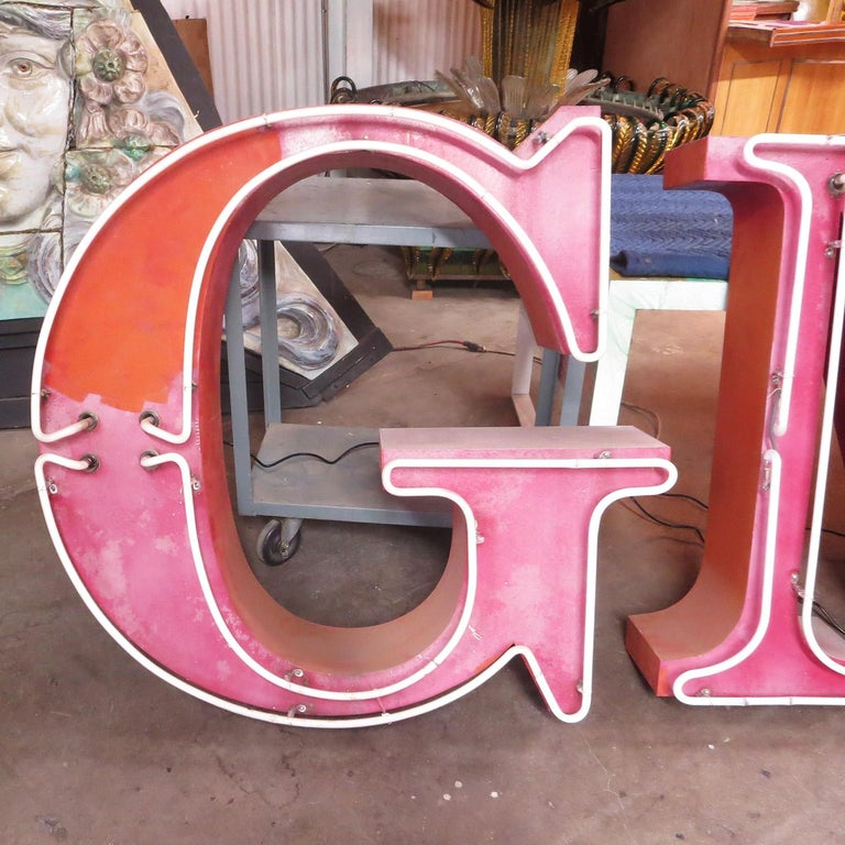 GMC Automobiles Dealership Neon Sign For Sale 2