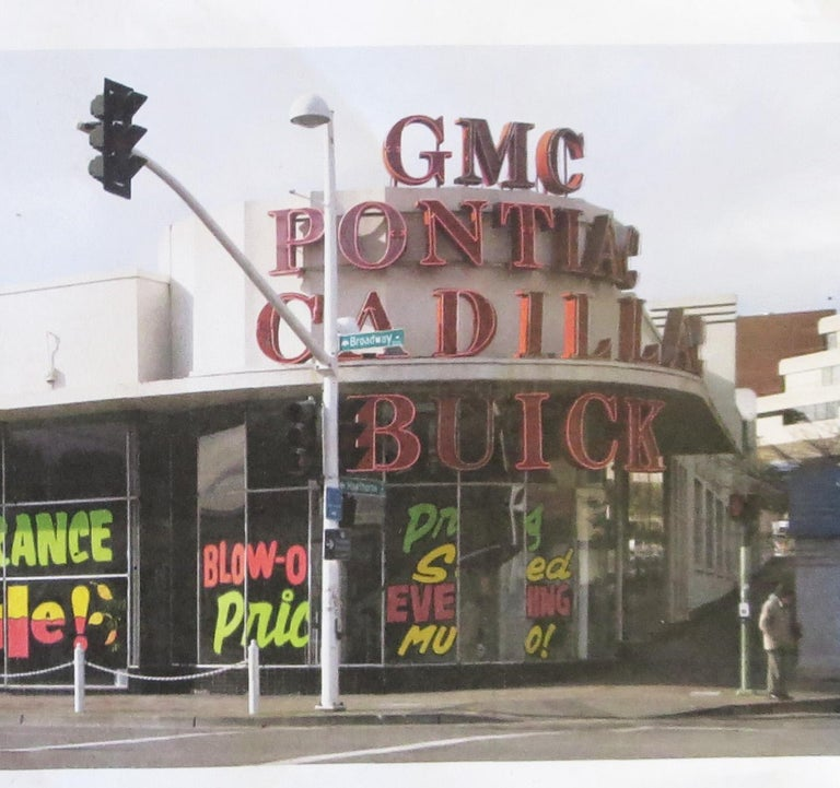 Steel Buick Automobiles Dealership Neon Sign For Sale