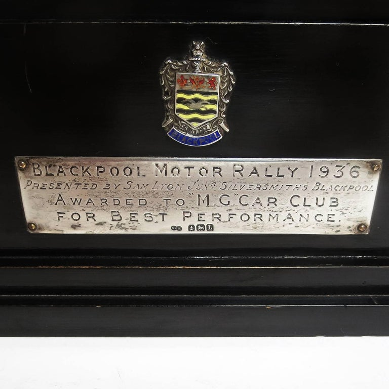 M.G. Car Club Award from Blackpool Motor Rally, 1936 For Sale 2