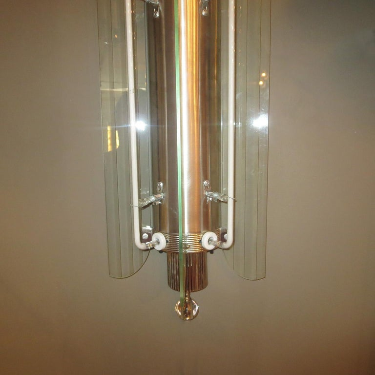 Art Deco Movie Theatre Wall Sconces in a Large-Scale In Excellent Condition For Sale In Los Angeles, CA
