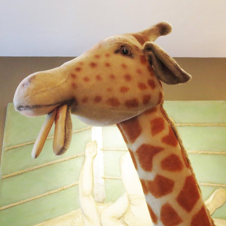 Steiff Display Giraffe In Excellent Condition For Sale In Los Angeles, CA