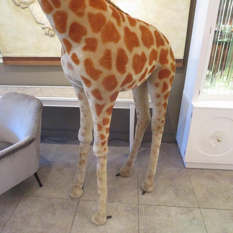 Mid-20th Century Steiff Display Giraffe For Sale