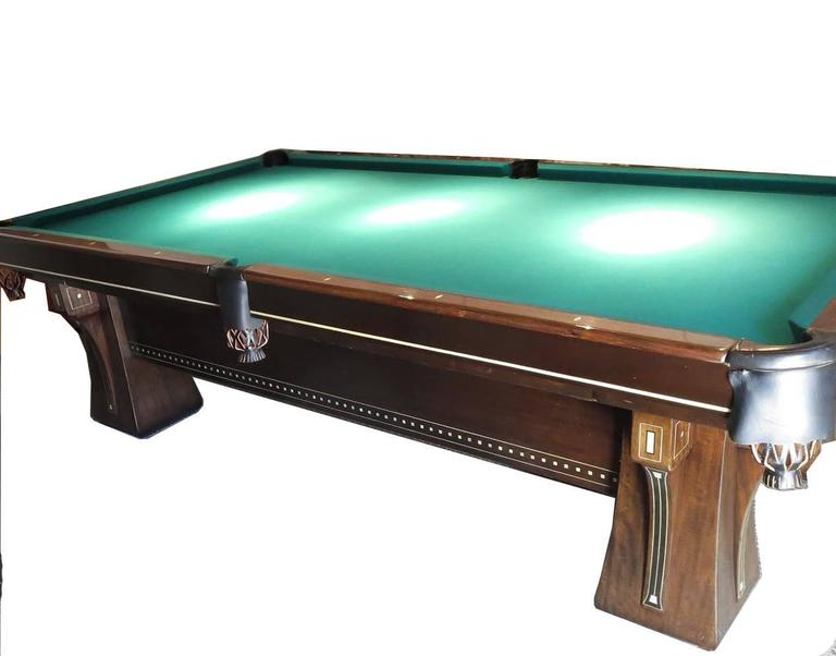 American Craftsman Brunswick Arcade Pool Table For Sale