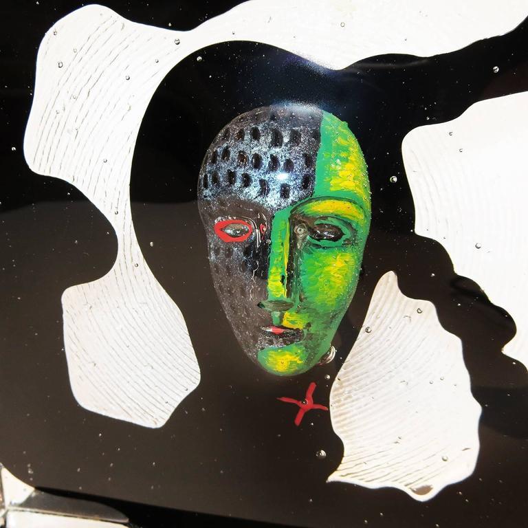 Glass Sculpture By Bertil Vallien For Kosta Boda At 1stdibs