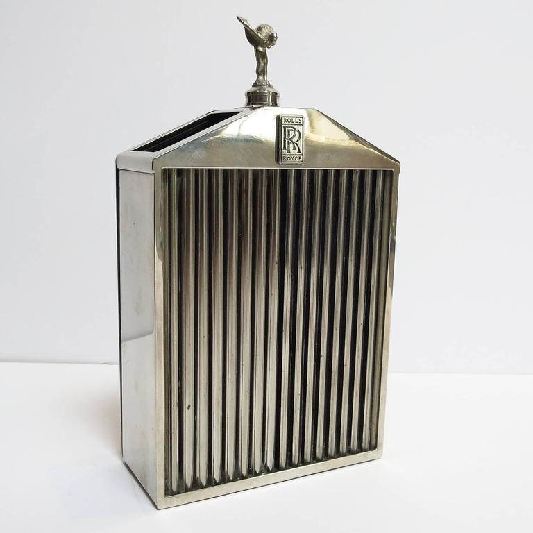 Rolls Royce Grille Desktop Pen Holder For