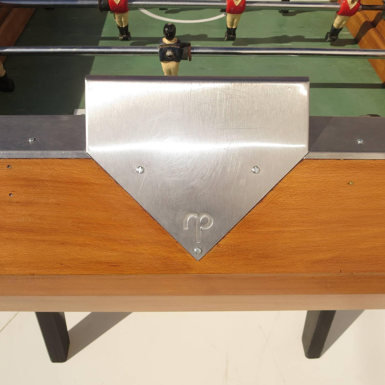 French Mid Century Foosball Table By Rene Pierre For Sale