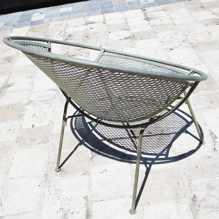 Mid-Century Modern Iron Hoop Chairs by Maurizio Tempestino for Salterini For Sale