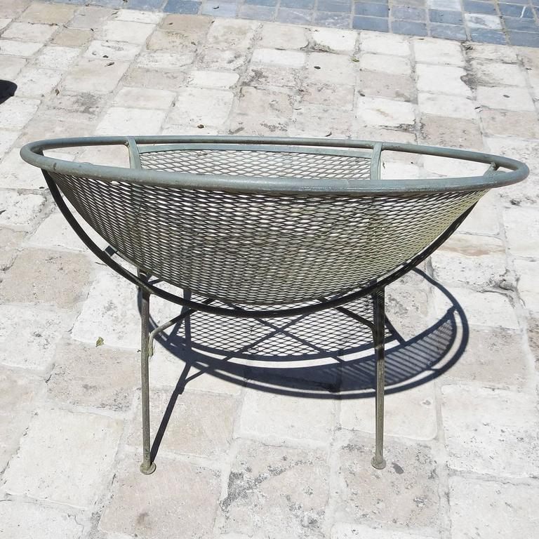 American Iron Hoop Chairs by Maurizio Tempestino for Salterini For Sale