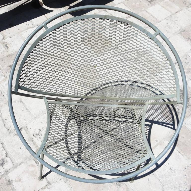 Painted Iron Hoop Chairs by Maurizio Tempestino for Salterini For Sale