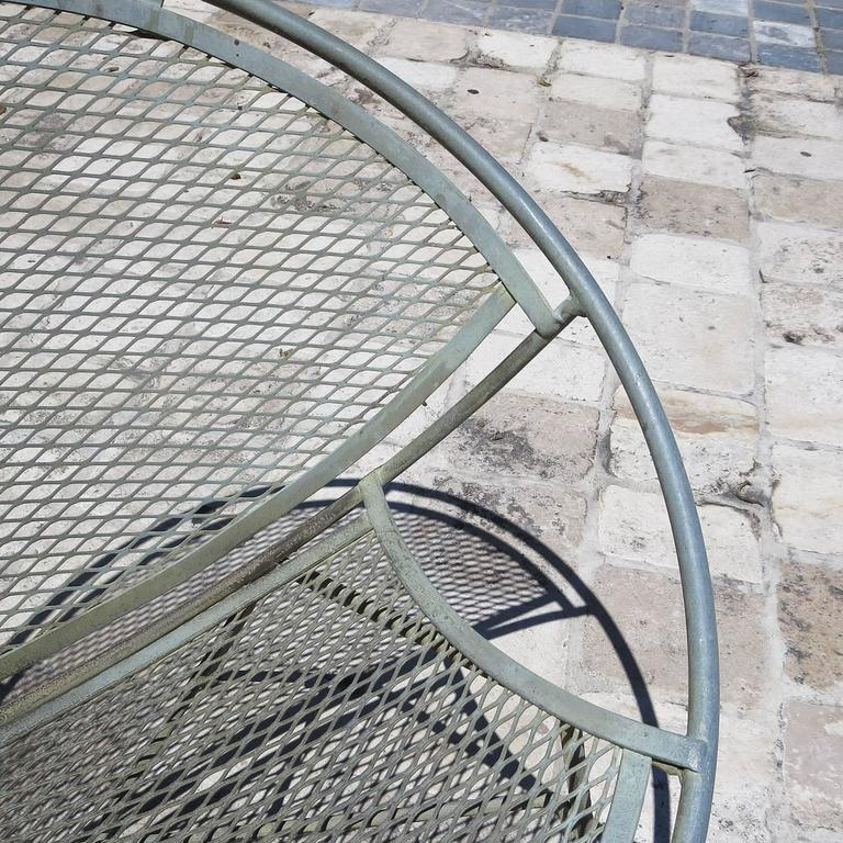 Iron Hoop Chairs by Maurizio Tempestino for Salterini In Good Condition For Sale In Los Angeles, CA