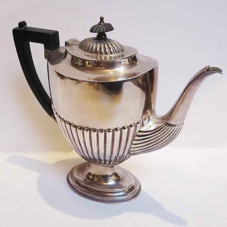 Art Deco Silver Plated Coffee and Tea Service 2