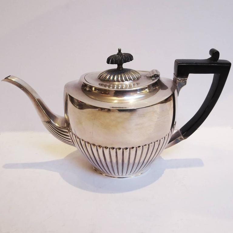 Art Deco Silver Plated Coffee and Tea Service 3