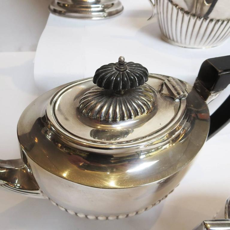 Art Deco Silver Plated Coffee and Tea Service 6