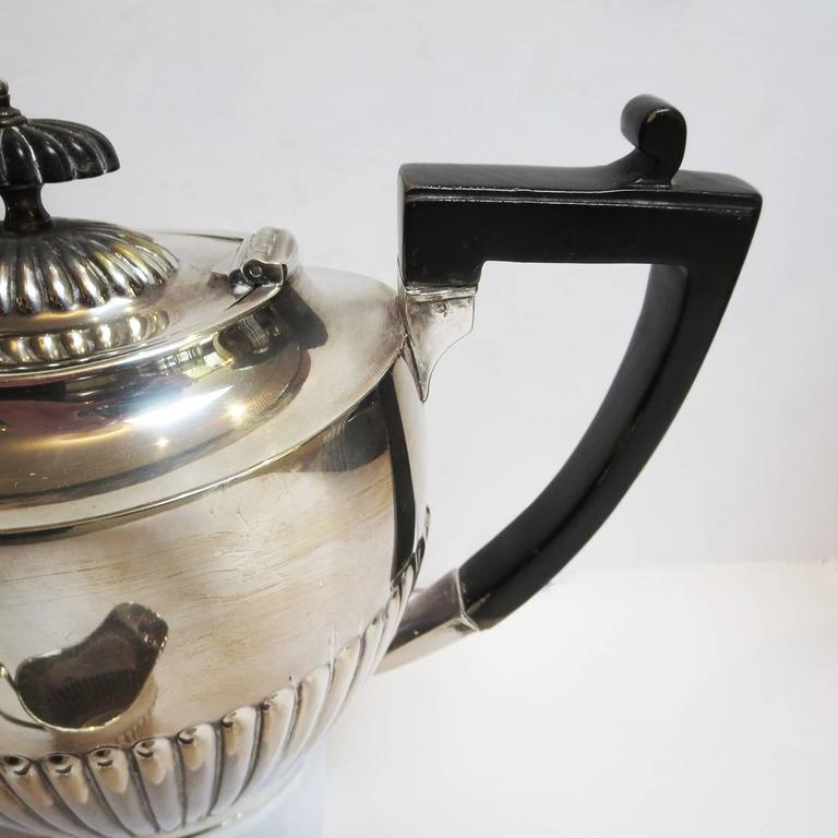 Art Deco Silver Plated Coffee and Tea Service 7