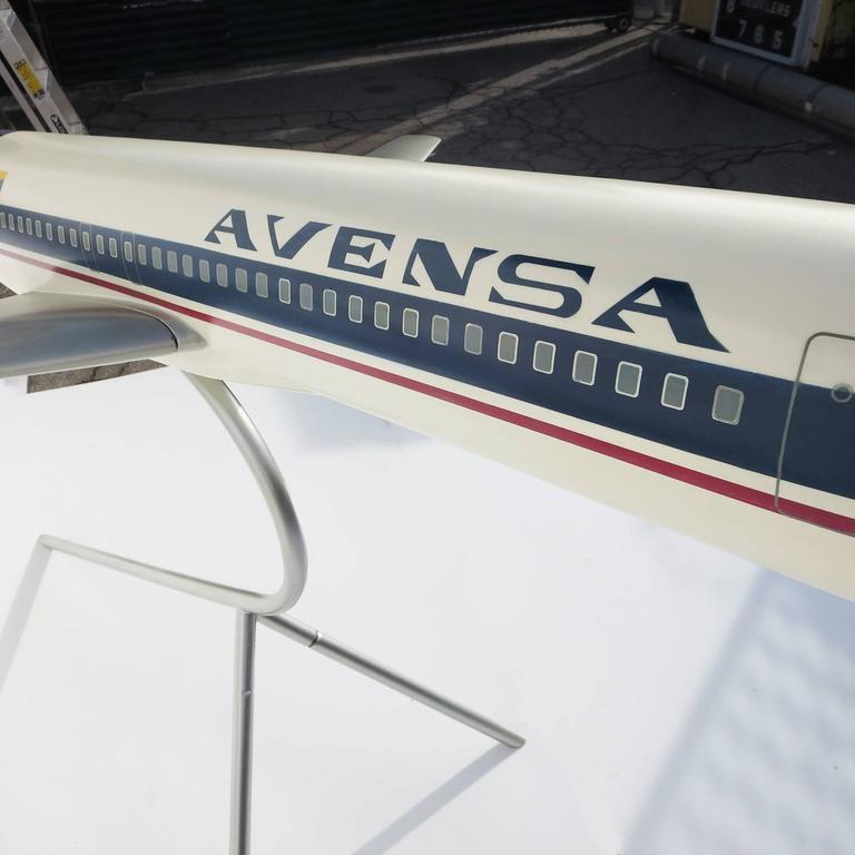 Massive Boeing 727 Cutaway Jet Model for Avensa Airlines 10