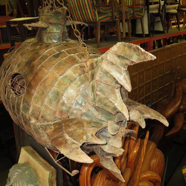 Jules Verne's Nautilus Ship Hanging Sculpture 3