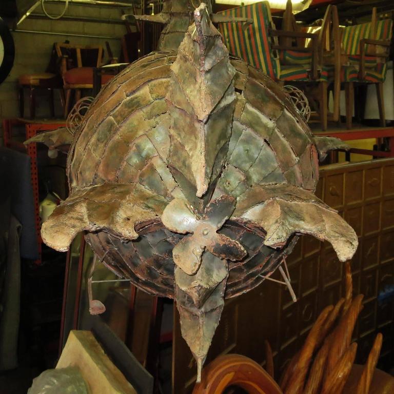 Jules Verne's Nautilus Ship Hanging Sculpture 5