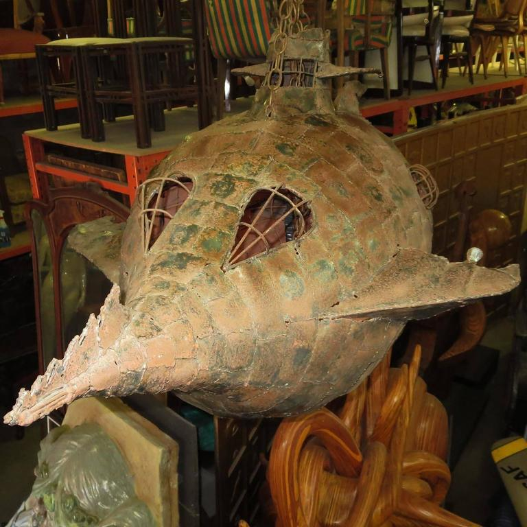 Jules Verne's Nautilus Ship Hanging Sculpture 6