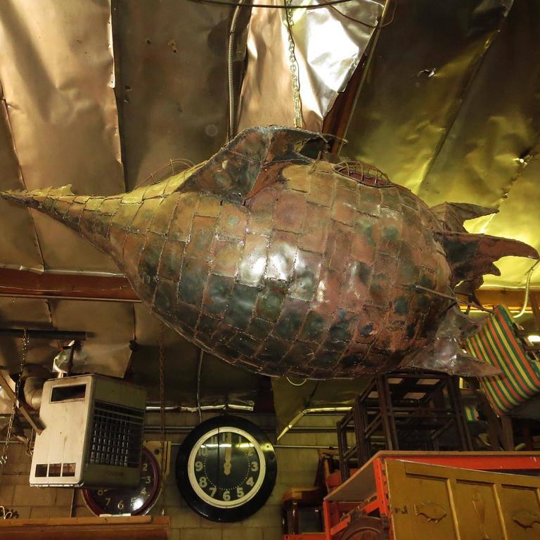 Jules Verne's Nautilus Ship Hanging Sculpture 7