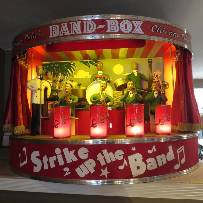 """Chicago Coin's Mechanical """"Band Box"""" Automated Orchestra 2"""
