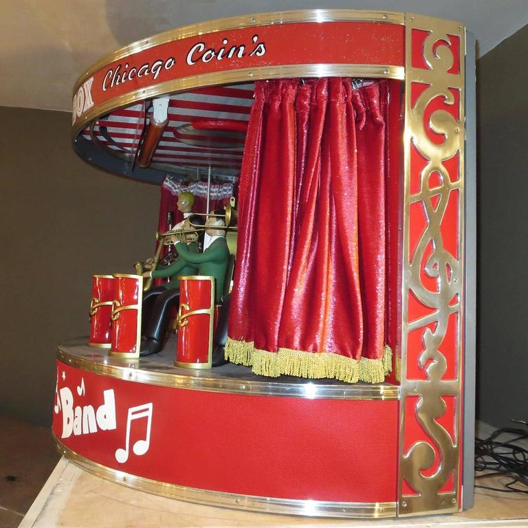 """Chicago Coin's Mechanical """"Band Box"""" Automated Orchestra 6"""
