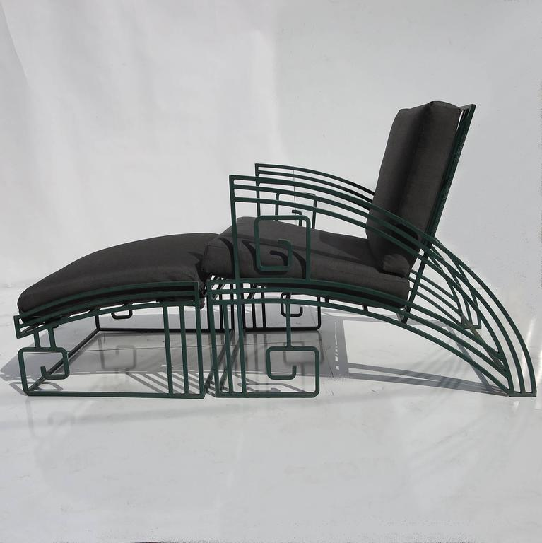 """""""Biltmore"""" Iron Chaise by Marina McDonald for Jazz 3"""